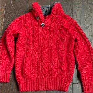 BabyGAP Sherpa Mock turtleneck Sweater.